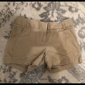 J. Crew Shorts - Jcrew chino tan shorts